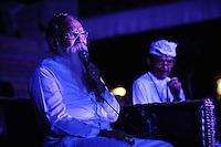 Blessing ceremony at Bali Spirit Festival, Arma, Ubud, Bali, Indonesia, 19/03/2014.