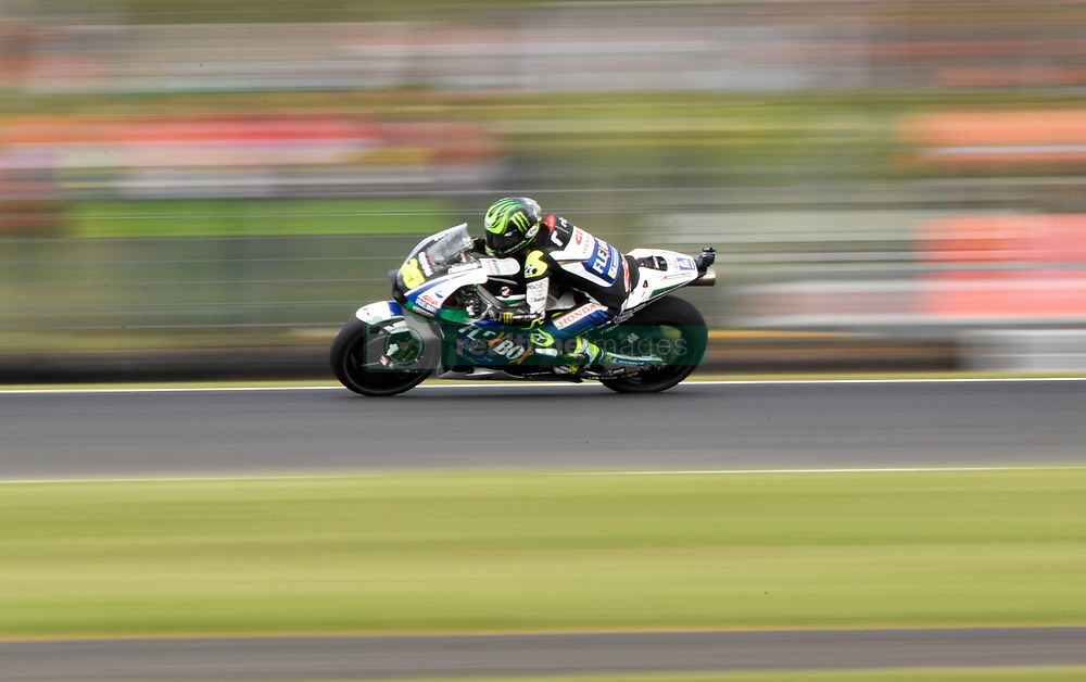October 26, 2018 - Melbourne, Victoria, Australia - English rider Cal Crutchlow (#35) of LCR Honda CASTROL in action during day 2 of the 2018 Australian MotoGP held at Phillip Island, Australia. (Credit Image: © Theo Karanikos/ZUMA Wire)
