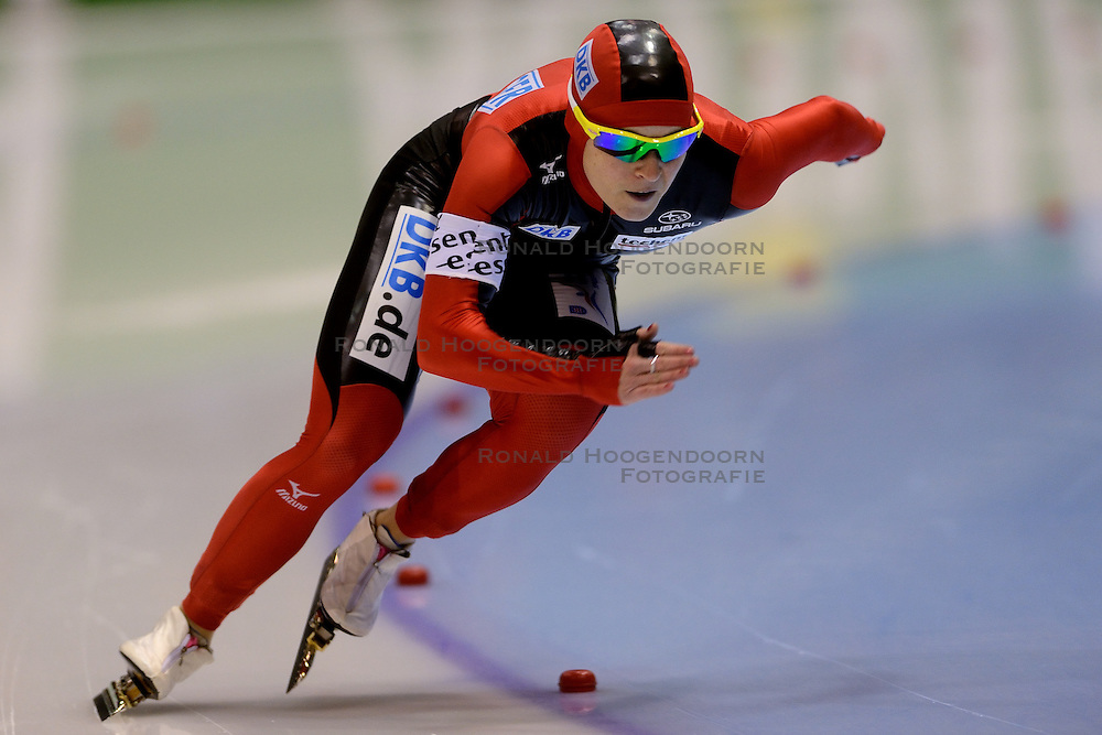 010-03-2013 SCHAATSEN: FINAL ISU WORLD CUP: HEERENVEEN<br /> NED, Speedskating Final World Cup Thialf Heerenveen / Judith Hesse GER<br /> &copy;2013-FotoHoogendoorn.nl