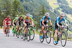 07.07.2017, St. Johann Alpendorf, AUT, Ö-Tour, Österreich Radrundfahrt 2017, 5. Kitzbühel - St. Johann/Alpendorf (212,5 km), im Bild Stephan Rabitsch (AUT, Team Felbermayr Simplon Wels), Markus Eibegger (AUT, Team Felbermayr Simplon Wels) // Stephan Rabitsch (AUT Team Felbermayr Simplon Wels) Markus Eibegger (AUT Team Felbermayr Simplon Wels) during the 5th stage from Kitzbuehel - St. Johann/Alpendorf (212,5 km) of 2017 Tour of Austria. St. Johann Alpendorf, Austria on 2017/07/07. EXPA Pictures © 2017, PhotoCredit: EXPA/ JFK
