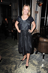 KATE REARDON at a dinner hosted by Ruinart in honour of Amanda Wakely at The Connaught, Carlos Place, London on 20th October 2010.