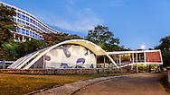 Conjunto Residencial Prefeito Mendes de Moraes (Pedregulho) projetado pelo  Affonso Eduardo Reidy e completado em 1947 , uma das joias da arquitetura carioca escondido no bairro de São Cristovão. foto dhan b 2016
