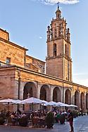 The Gothic Church of Santa Maria, Los Arcos, Spain