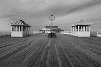 A classic pier shot showing good old fashioned architecture - this is where the fun was to be had!