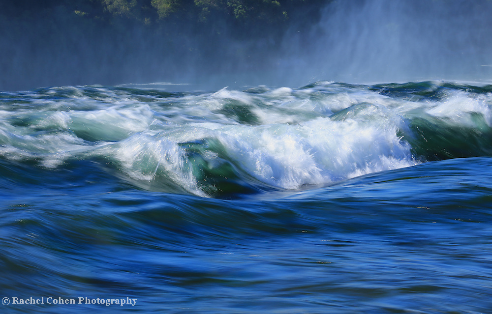 &quot;Niagara's Edge&quot;<br /> <br /> Gorgeous blue shades combined with white as the waters of the Niagara River goes over the edge!