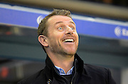 Birmingham City first team manager Gary Rowett during the Sky Bet Championship match between Birmingham City and Brentford at St Andrews, Birmingham, England on 2 January 2016. Photo by Alan Franklin.