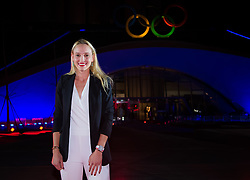 September 30, 2018 - Donna Vekic of Croatia on the red carpet at the 2018 China Open WTA Premier Mandatory tennis tournament players party (Credit Image: © AFP7 via ZUMA Wire)