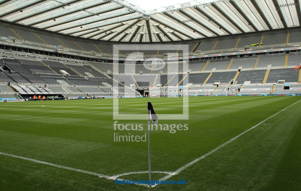 A general view of St. James's Park prior to the Barclays Premier League match at St. James's Park, Newcastle<br /> Picture by Stephen Gaunt/Focus Images Ltd +447904 833202<br /> 09/05/2015