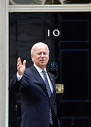 © Licensed to London News Pictures. 05/02/2013. Westminster, UK American Vice President Joe Biden arrives at number 10 Downing Street for meetings today 5th February 2013. Photo credit : Stephen Simpson/LNP