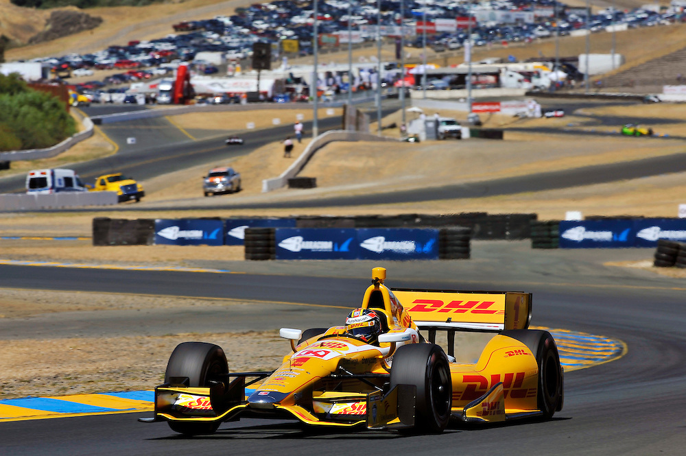 23-25 August, 2013, Sonoma, California USA<br /> Ryan Hunter-Reay<br /> &copy;2013 Scott R LePage <br /> LAT Photo USA