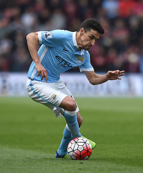 Jesus Navas of Manchester City - Mandatory by-line: Paul Knight/JMP - 02/04/2016 - FOOTBALL - Vitality Stadium - Bournemouth, England - AFC Bournemouth v Manchester City - Barclays Premier League