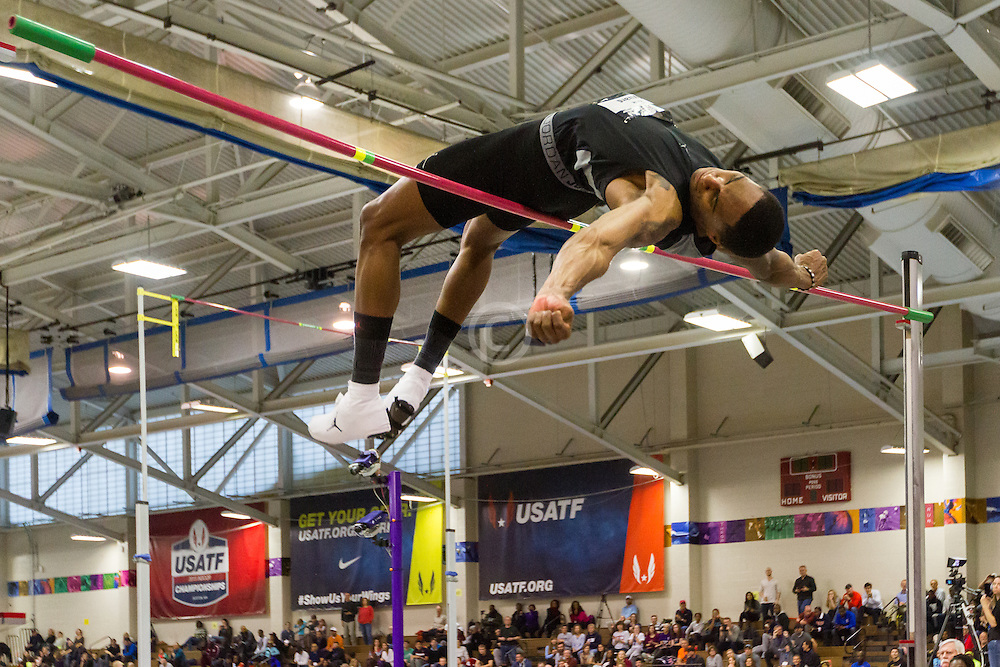 USATF Indoor Track & Field Championships: men high jump, Erik Kynard Jr, Nike/Jordan