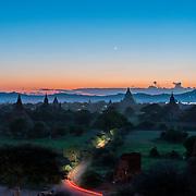 Bagan Blue Sky