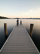 Limited Edition of 25<br /> Priest Lake North Idaho<br /> Boys in motion on dock