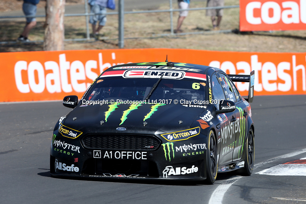 CAMERON WATERS / RICHIE STANAWAY (Monster Energy Ford). Supercheap Auto Bathurst 1000. 2017 Virgin Australia Supercars Championship Round 11. Mount Panorma, Bathurst NSW 5 October 2017. Photo Clay Cross / photosport.nz
