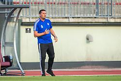 Dejan Doncic, head coach of NK Triglav Kranj during Football match between NK Triglav Kranj and NK Rudar Velenje in Round #3 of Prva liga Telekom Slovenije 2019/20, on July 27, 2019 in Sports park Kranj, Kranj, Slovenia. Photo by Ziga Zupan / Sportida