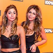 NLD/Amsterdam/20190208- 100% NL Awards  2019, Olcay Gulcen en haar zusje Dulce