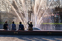 MARCH 24th:  Four Friends and a Fountain