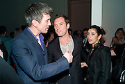 ALEX TURNBULL; JUDE LAW, TODÕS Art Plus Drama Party 2011. Whitechapel GalleryÕs annual fundraising party in partnership. Whitechapel Gallery. London. 24 March 2011.  with TODÕS and supported by HarperÕs Bazaar-DO NOT ARCHIVE-© Copyright Photograph by Dafydd Jones. 248 Clapham Rd. London SW9 0PZ. Tel 0207 820 0771. www.dafjones.com.<br /> ALEX TURNBULL; JUDE LAW, TOD'S Art Plus Drama Party 2011. Whitechapel Gallery's annual fundraising party in partnership. Whitechapel Gallery. London. 24 March 2011.  with TOD'S and supported by Harper's Bazaar-DO NOT ARCHIVE-© Copyright Photograph by Dafydd Jones. 248 Clapham Rd. London SW9 0PZ. Tel 0207 820 0771. www.dafjones.com.