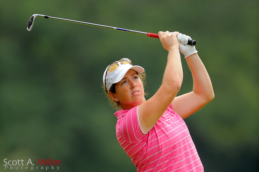 Lauren Doughtie during the Symetra Tour's Eagle Classic at the Richmond Country Club on August 18, 2012 in Richmond, Va...©2012 Scott A. Miller