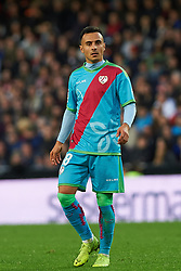 November 24, 2018 - Valencia, Valencia, Spain - Trejo of Rayo Vallecano during the La Liga match between Valencia CF and Rayo Vallecano at Mestalla Stadium on November 24, 2018 in Valencia, Spain (Credit Image: © AFP7 via ZUMA Wire)