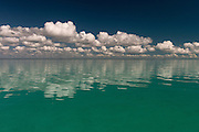 Ocean & clouds<br /> Ambergris Caye<br /> Belize,<br /> Central America