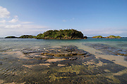 Iriomote-jima. Hoshisuna-no-hama (Star sands beach).