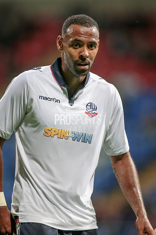 Liam Trotter (Bolton Wanderers) during the Pre-Season Friendly match between Bolton Wanderers and Burnley at the Macron Stadium, Bolton, England on 26 July 2016. Photo by Mark P Doherty.