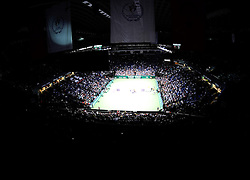 27.10.2012, Sinan Erdem Dome, Istanbul, TUR, WTA, TEB BNP Paribas, im Bild General view during WTA, TEB BNP Paribas Championships at the Sinan Erdem Dome, Istanbul, Turkey on 2012/10/27. EXPA Pictures © 2012, PhotoCredit: EXPA/ Seskimphoto/ Spfc/ ****** ATTENTION - for AUT, ESP, ITA, SWE, SLO, ..NOR, FIN, SRB, NED and USA ONLY! *****