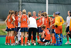 The #10 ranked Virginia Cavaliers fell to the #7 ranked Penn State Nittany Lions 3-1 at the University Hall Turf Field in Charlottesville, VA on August 26, 2007.