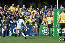 April 1, 2018 - Clermont Ferrand - Stade Marcel, France - Maxime Machenaud  (Credit Image: © Panoramic via ZUMA Press)