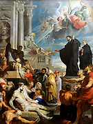 The Miracles of St Francis Xavier', 1617. Oil on canvas. Peter Paul Rubens (1577-1640) Flemish painter. St Francis Xavier (1506-1572) Roman Catholic missionary and co-founder of Society of Jesus (Jesuits) raising dead and healing sick.