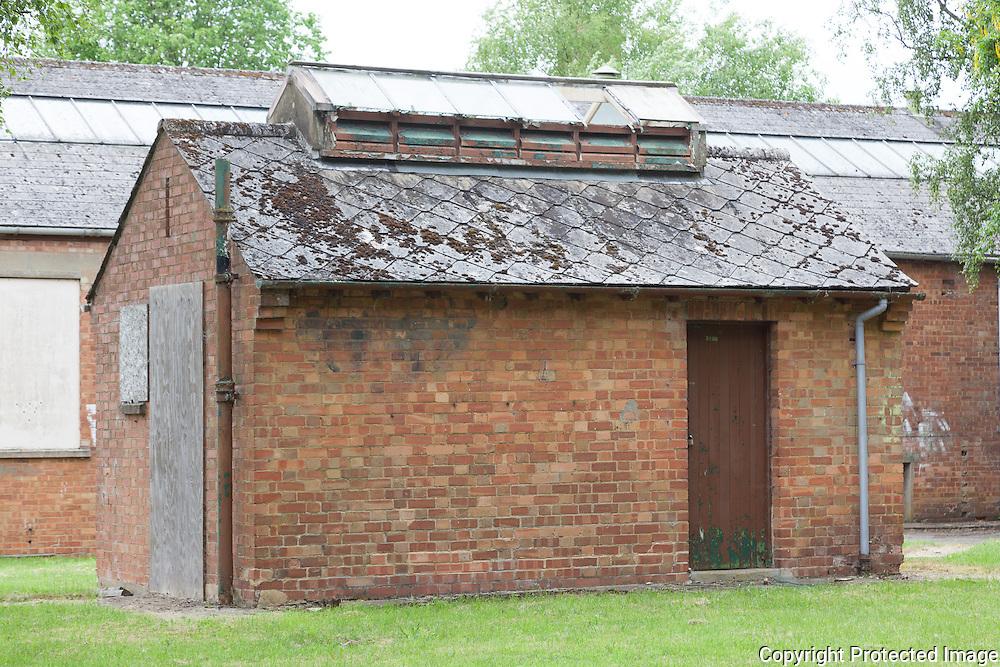 Building 100 Toilet Block. RAF Bicester