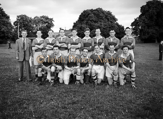 18.7.1952 Football (Crowe Wilson Drapers team) Drapers Championship