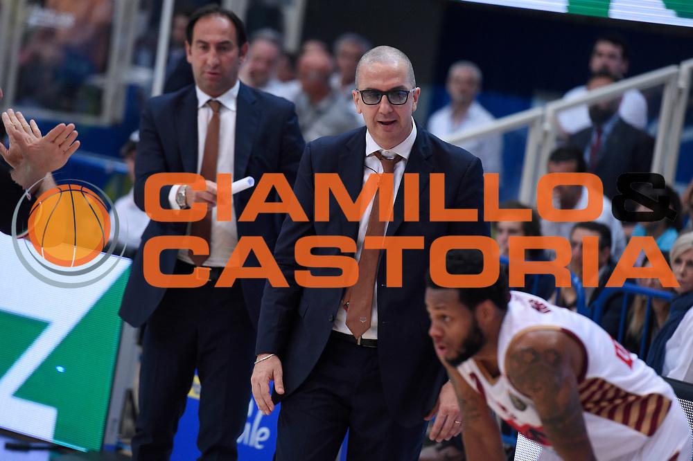 Walter De Raffaele<br /> Dolomiti Energia Aquila Basket Trento - Umana Reyer Venezia<br /> Lega Basket Serie A 2016/2017<br /> Playoff, finale gara 3<br /> Trento, 14/06/2017<br /> Foto M.Ceretti / Ciamillo-Castoria