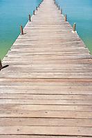 Na Pra Lan Pier on Koh Samui island; Thailand