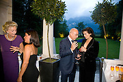 BARON JEAN DE GUNSBURG; BIANCA JAGGER, Christie's Gala. Casa Austria.  Amadeus Weekend. Salzburg. 22 August 2008.  *** Local Caption *** -DO NOT ARCHIVE-© Copyright Photograph by Dafydd Jones. 248 Clapham Rd. London SW9 0PZ. Tel 0207 820 0771. www.dafjones.com.