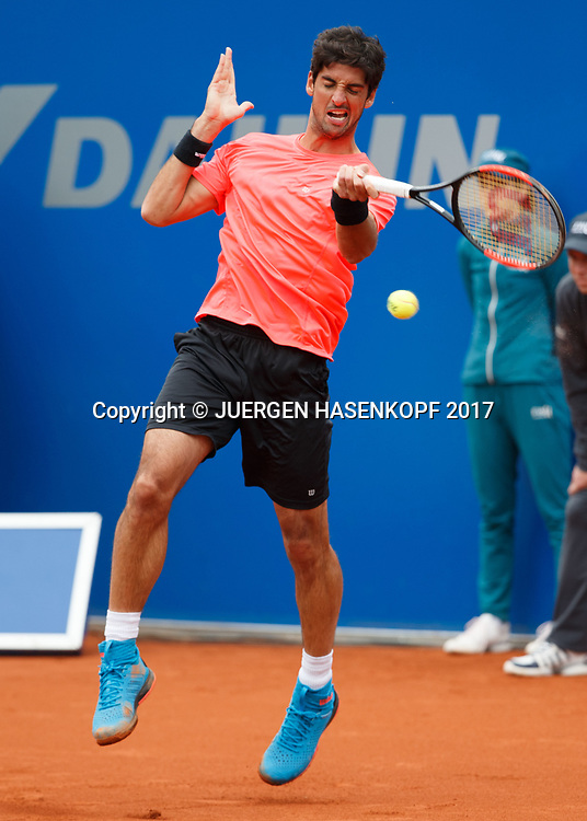 THOMAZ BELLUCCI (BRA)<br /> <br /> Tennis - BMW Open2017 -  ATP  -  MTTC Iphitos - Munich -  - Germany  - 3 May 2017.