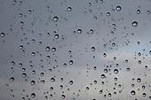 Raindrops window