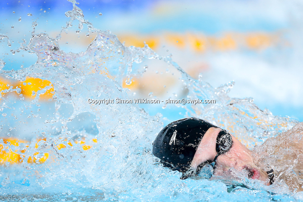 Picture by Alex Whitehead/SWpix.com - 27/07/2014 - 2014 Glasgow Commonwealth Games, Day 4 - Swimming - Tollcross Swimming Centre, Glasgow, Scotland - New Zealand's Samantha Lucie-Smith competes in the Women's 100m Freestyle heats.