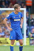 AFC Wimbledon defender Paul Robinson (6) during the EFL Sky Bet League 1 match between AFC Wimbledon and Shrewsbury Town at the Cherry Red Records Stadium, Kingston, England on 24 September 2016. Photo by Stuart Butcher.