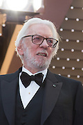 DONALD SUTHERLAND - 69TH CANNES FILM FESTIVAL 2016 - OPENING OF THE FESTIVAL WITH ' CAFE SOCIETY '<br /> ©Exclusivepix Media