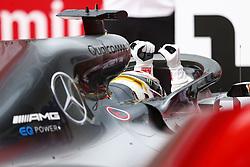 July 22, 2018 - Hockenheim, Germany - Motorsports: FIA Formula One World Championship 2018, Grand Prix of Germany, ..#44 Lewis Hamilton (GBR, Mercedes AMG Petronas Motorsport) (Credit Image: © Hoch Zwei via ZUMA Wire)