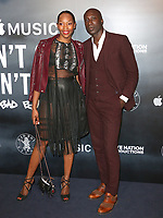 Vanessa Kingori & Ozwald Boateng, Can't Stop, Won't Stop: A Bad Boy Story - UK Film Premiere, Curzon Mayfair, London UK, 16 May 2017, Photo by Brett D. Cove