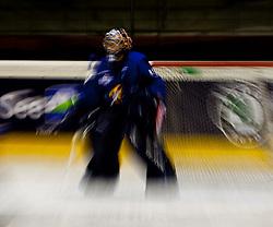 04.09.2010, Eishalle, Zell am See, AUT, Red Bull Salute, TPS Turku vs Jokerit Helsinki, im Bild Wischer Eishockey Goalie, EXPA Pictures © 2010, PhotoCredit: EXPA/ J. Feichter