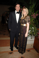 HARRY & LAURA LOPES she is the daughter of HRH The Duchess of Cornwall at The Diner Des Tsars in aid of Unicef to celebrate the launch of Quintessentially Wine held at the Guildhall, London EC2 on 29th March 2007.<br />