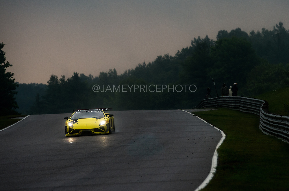 July 10-13, 2014: Canadian Tire Motorsport Park. #1 Thomas Pichler, Jota Corse, Lamborghini of Dallas