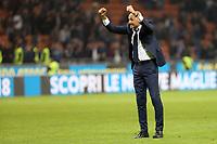24.10.2017 - Milano - Serie A 2017/18 - 10a giornata  -  Inter-Sampdoria nella  foto: Luciano Spalletti allenatore esulta sotto la curva a fine partita