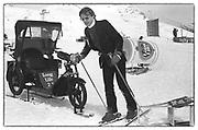 BRUCE A BECKETT TERRELL, Dangerous Sports Club Ski race, St. Moritz, March 1983.