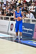 DESCRIZIONE : Trento Nazionale Italia Uomini Trentino Basket Cup Italia Austria Italy Austria <br /> GIOCATORE : Achille Polonara<br /> CATEGORIA : Tecnica<br /> SQUADRA : Italia Italy<br /> EVENTO : Trentino Basket Cup<br /> GARA : Italia Austria Italy Austria<br /> DATA : 31/07/2015<br /> SPORT : Pallacanestro<br /> AUTORE : Agenzia Ciamillo-Castoria/GiulioCiamillo<br /> Galleria : FIP Nazionali 2015<br /> Fotonotizia : Trento Nazionale Italia Uomini Trentino Basket Cup Italia Austria Italy Austria